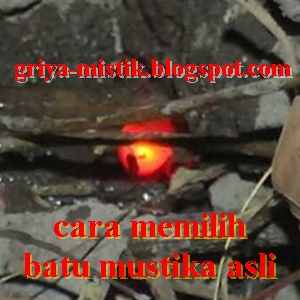 HOW TO CHOOSE THE ORIGINAL STONE MUSTIKA