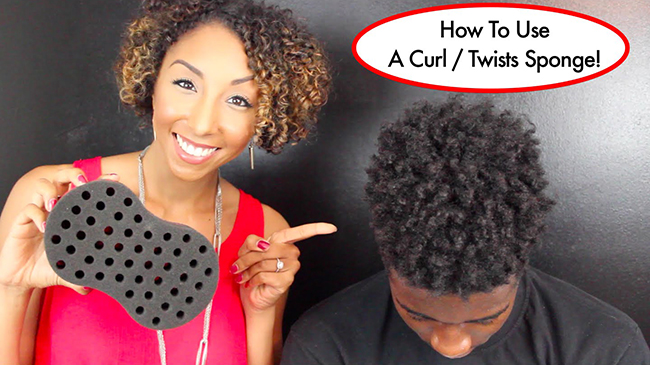Sponge Twists And Coils- How To Define Your Short, Natural