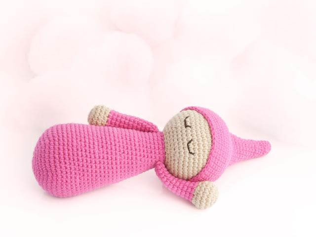 amigurumi-bebé-dormilón-patrón-gratis-free-pattern-baby-sleepy