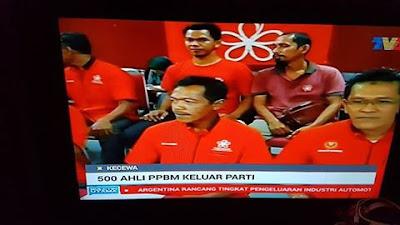 500 Ahli PPBM Keluar Parti