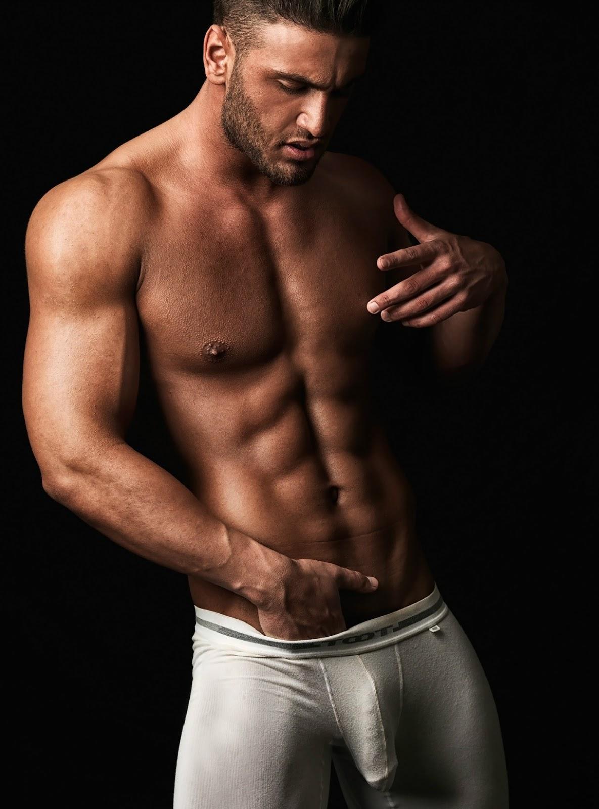 Sean's Masturbating Underwear Model Men Gay When Hunky