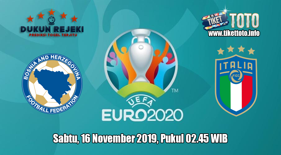 Prediksi Euro Qualification Bosnia VS Italia 16 November 2019