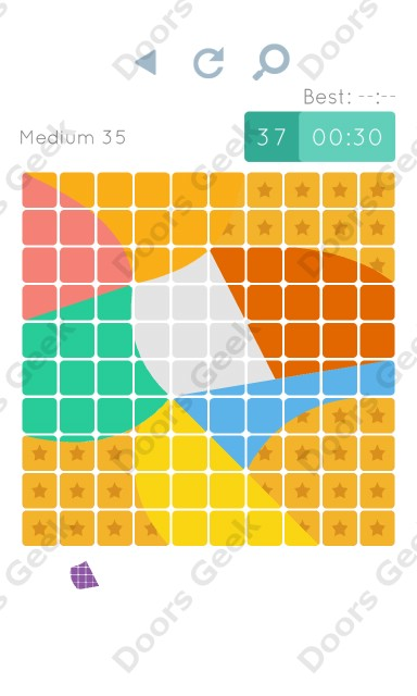 Cheats, Walkthrough for Blocks and Shapes Medium Level 35