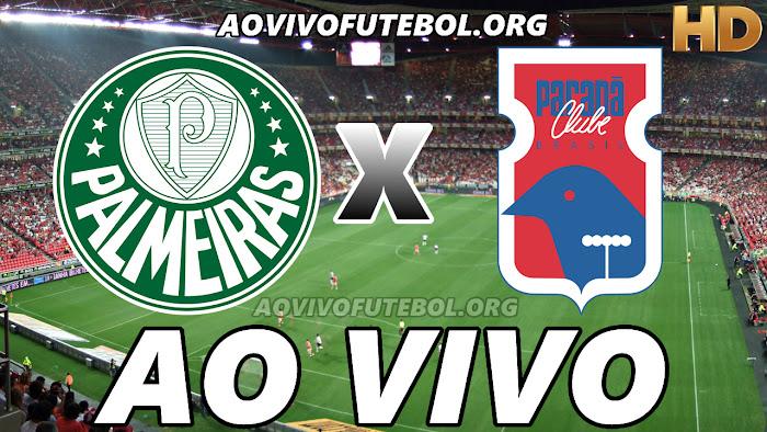 Assistir Jogo do Palmeiras x Paraná Ao Vivo