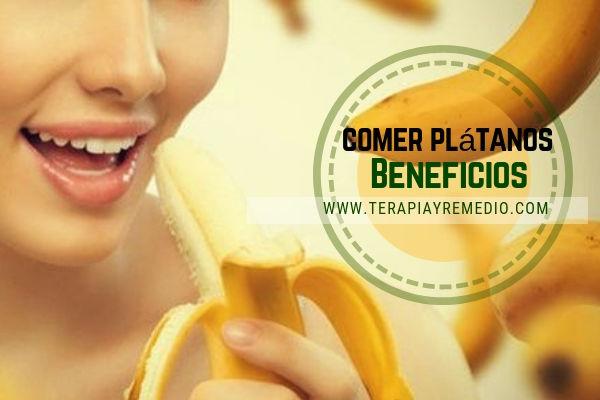 Los beneficios de comer plátanos son muchos ya que es un alimento muy completo para todos