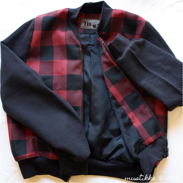 checked bomber