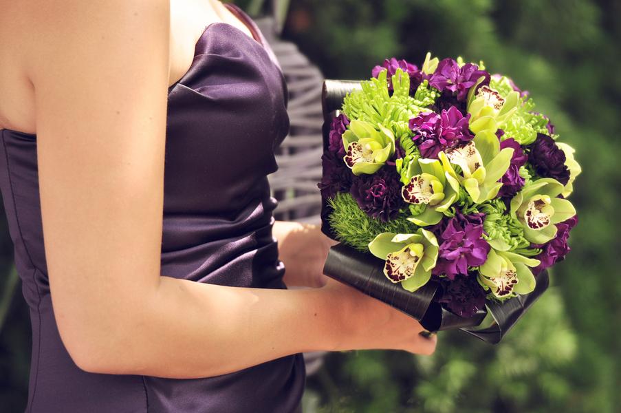 Elegant Purple Wedding At Black Swan Lake: Savvy Deets Bridal: {Real Weddings} Amanda & Matt's