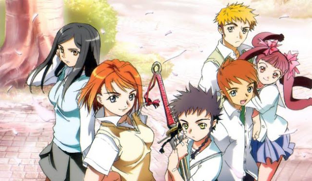 Anime Magic School Romance Terbaik - Mai-Hime