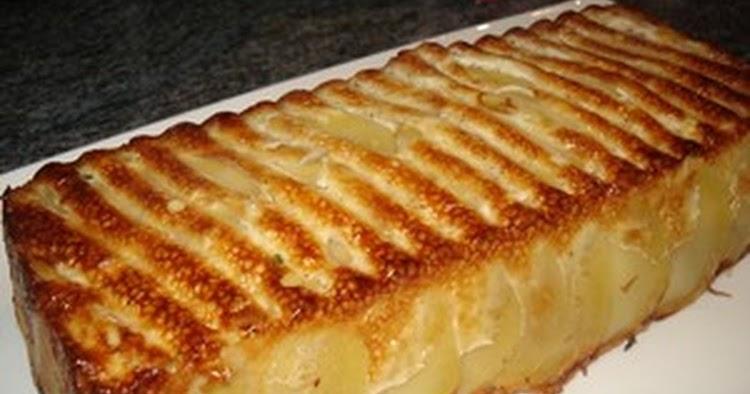 g teau aux pommes de terre torta di patate tarte aux pommes de terre recettes faciles. Black Bedroom Furniture Sets. Home Design Ideas
