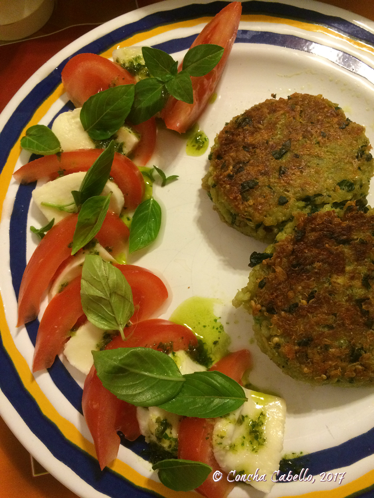 quinoa-patties-caprese