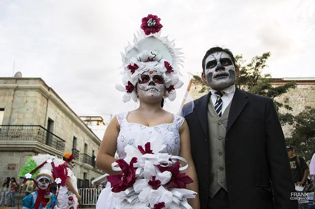 catrines en el dia de muertos Oaxaca