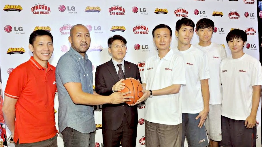 LG Philippines, Asian Basketball Showdown, LG vs Barangay Ginebra