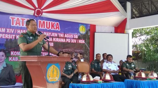 Pangdam XIV Hasanuddin Tatap Muka, Dengan Pemerintah Dan Masyarakat Selayar