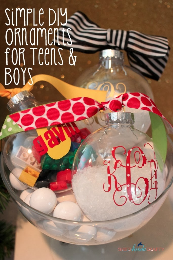 Simple DIY Ornaments For Teens And Boys