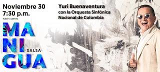 Concierto Yuri Buenaventura + Sinfonica Nacional