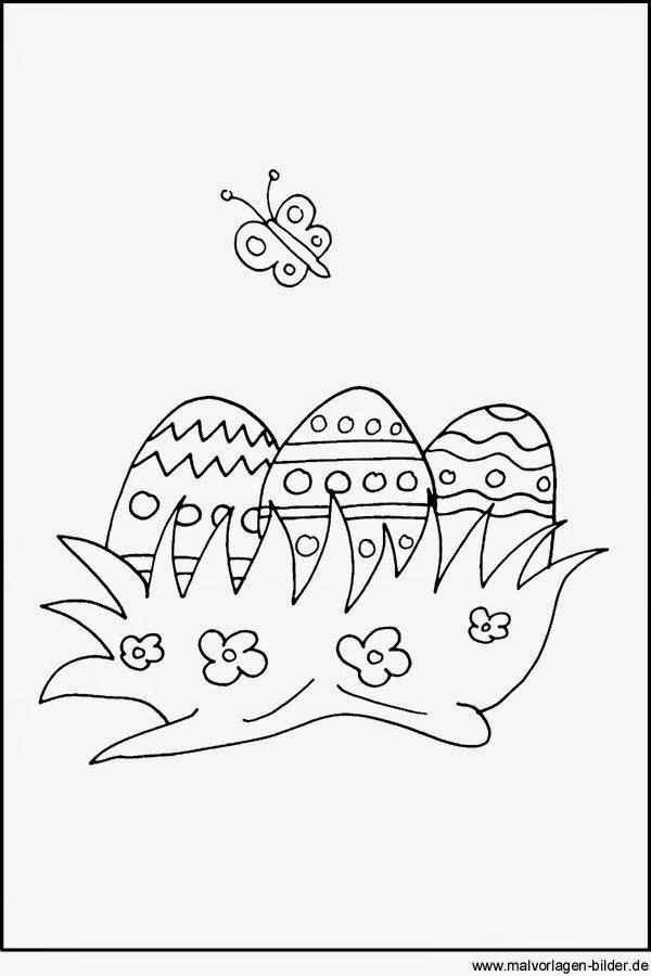 ostereier malvorlagen