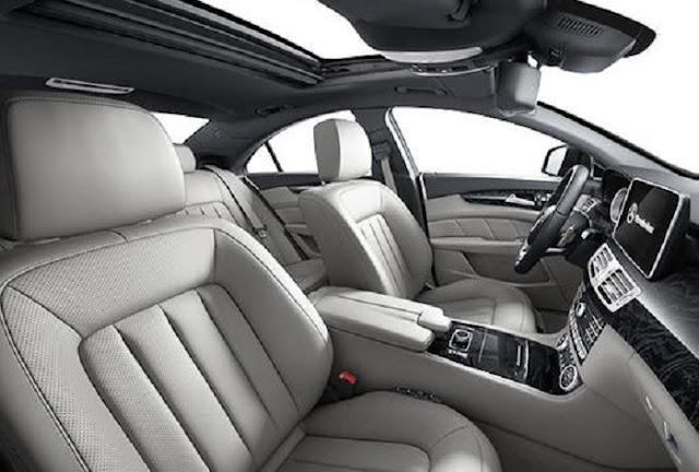 Nội thất Mercedes CLS 400 thiết kế trẻ trung, năng động