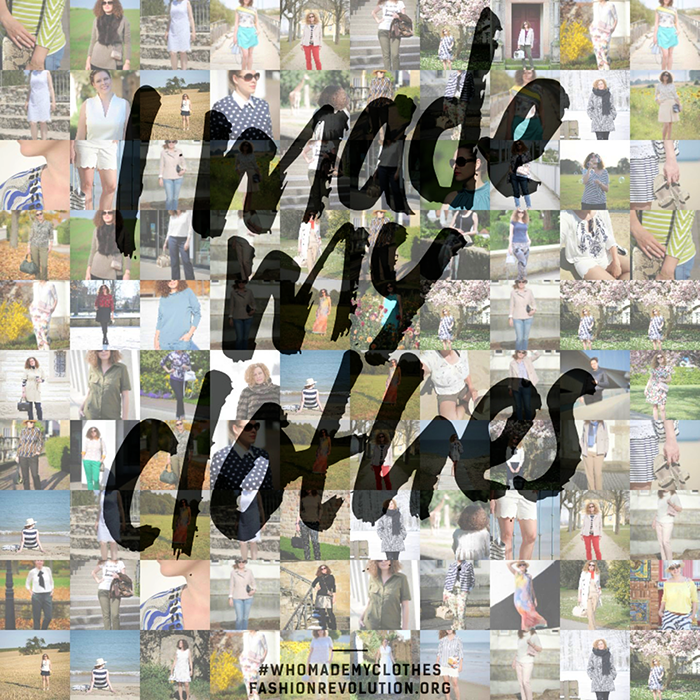 Fashion Revolution, FashRev, I made my clothes