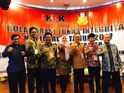 Wabup Trenggalek  Ikut Ambil Bagian dalam Kolaborasi Tunas Integritas Nasional ke-II oleh KPK