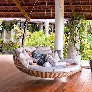 cama colgante para el patio