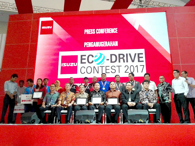 eco driving isuzu contest