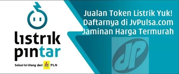 JvPulsa.com PT Aslamindo Eltama Raya Agen Jual Pulsa Listrik Harga Termurah