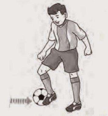Pengertian Dan Beberapa Jenis Cara Teknik Dasar Mengontrol Bola Dalam Permainan Sepak Bola