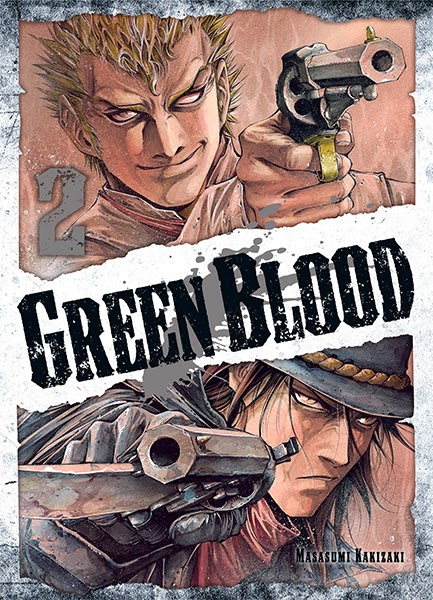 Green Blood Tome 2 chez Ki-oon