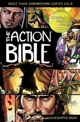 The Action Bible - Comic Book Style Bible Recommendations for Visual Learners - Illustrated Bible