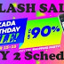Lazada Birthday Sale Day 2 (March 16) Flash Sale Schedule