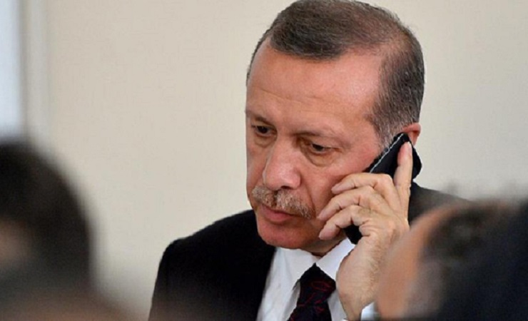 Erdogan menelepon