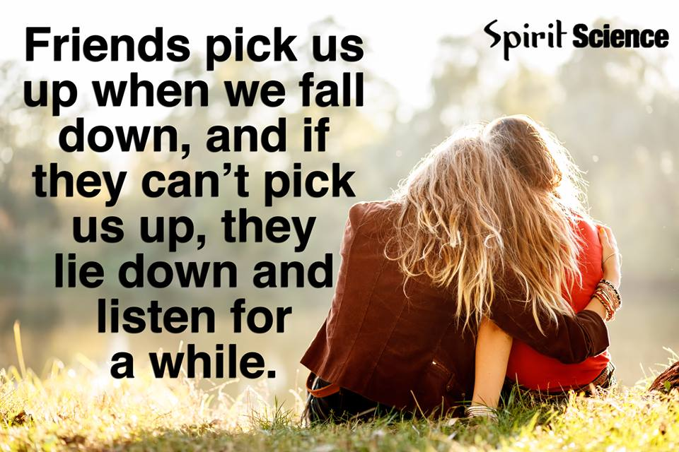 Image result for friends pick us up when we fall down