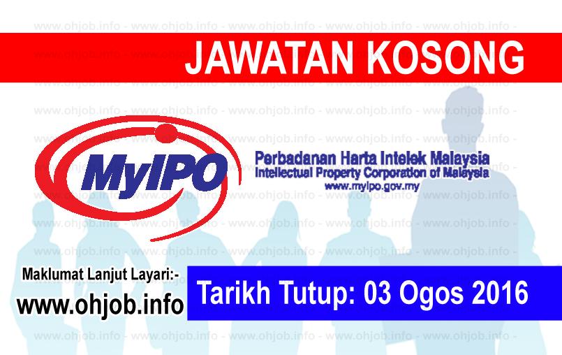 Jawatan Kerja Kosong Perbadanan Harta Intelek Malaysia (MyIPO) logo www.ohjob.info ogos 2016