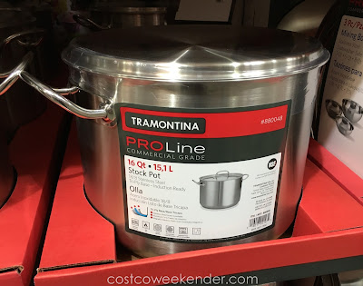 Make a batch of chili for an army with the Tramontina Pro Line Commercial Grade Stock Pot