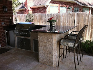 built in gas grills for outdoor kitchens