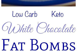 White Chocolate Keto Fat Bombs ( Low Carb )
