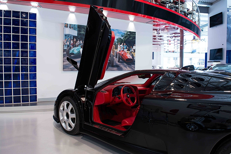 There's A Rare Black Dauer-Built Bugatti EB110 SS For Sale In London   Carscoops