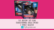 Toy Review: Spy Gear Transforming Ninja Sword & Wrist Blaster (REVIEW)