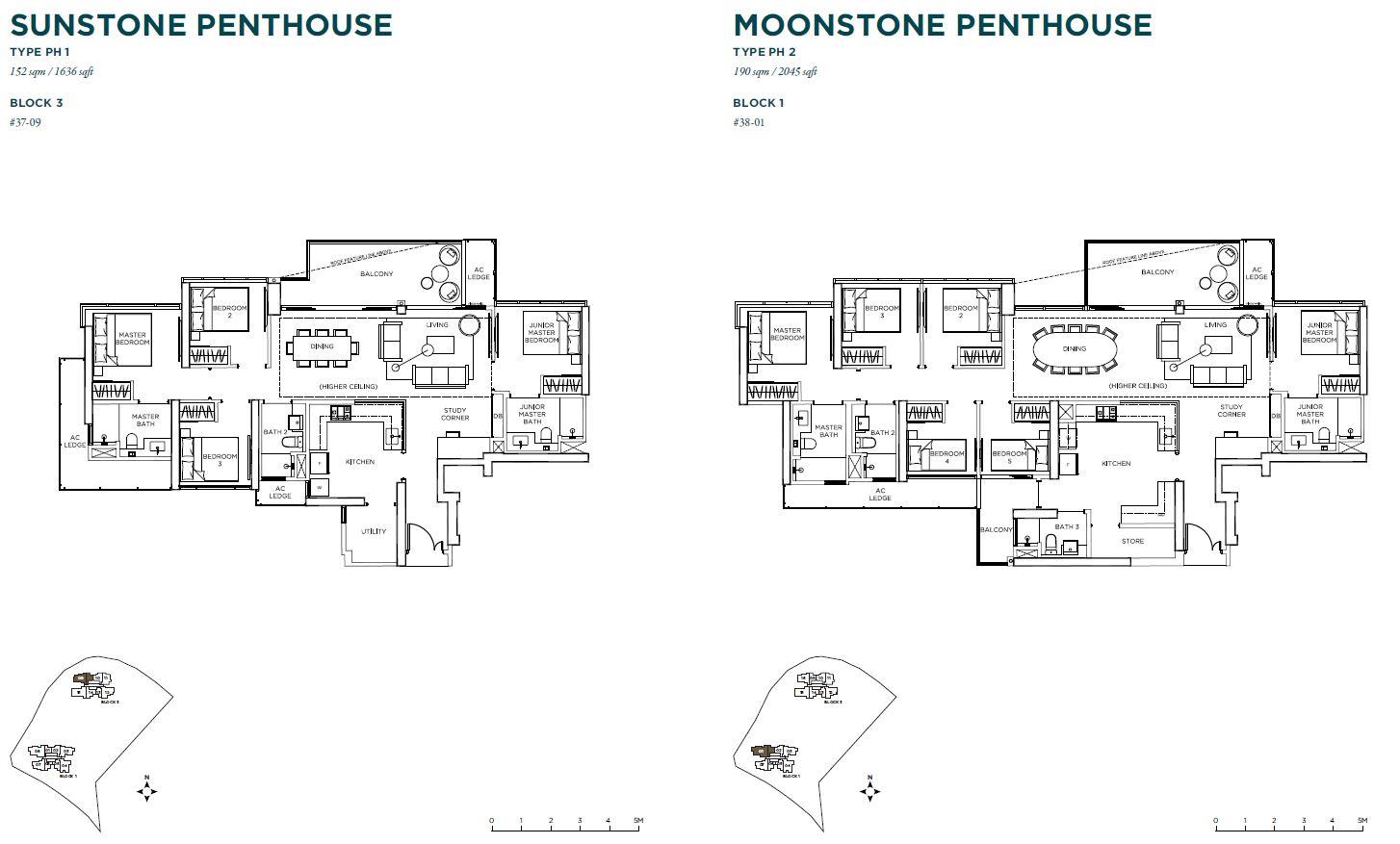 Gem Residences penthouse
