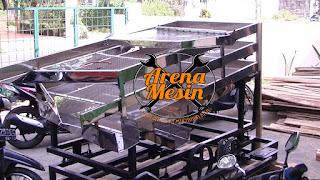 mesin pengayak tepung ikan
