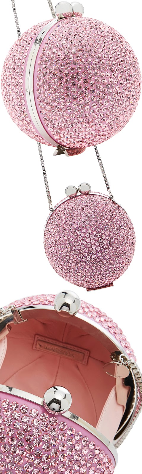 Brilliant Luxury ♦ Marzook crystal orb bag