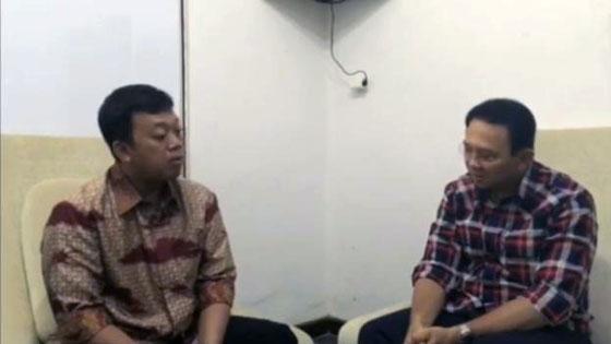 Bikin Heboh, Beredar Video Nusron Wahid Nasihati Ahok Minta Maaf ke Publik