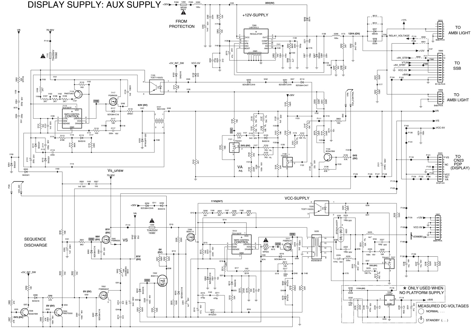 philips 26pf9531 1 led tv power supply schematic. Black Bedroom Furniture Sets. Home Design Ideas