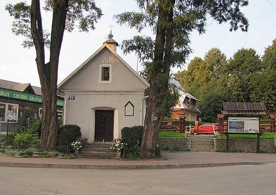 Kapliczka wotywna pw. Przemienienia Pańskiego na Zawodziu.