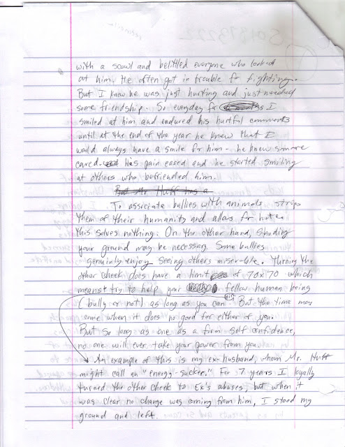 essays: Bullying Article