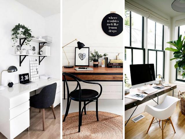 Home Office - Tipos de mesas