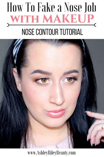 How To Fake a Nose Job with Makeup | Nose Contour Tutorial