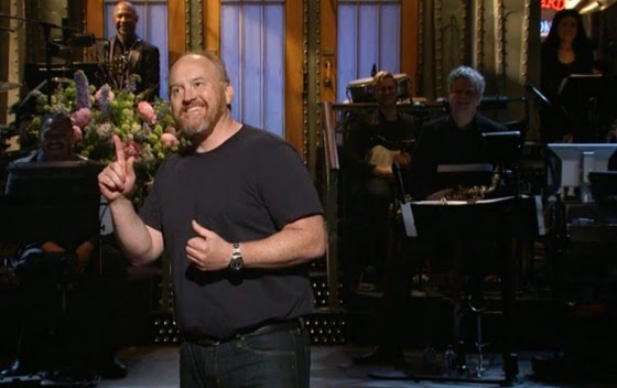 Louis C.K.'s monologue on SNL compared child molestation to eating candy bars.