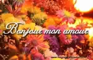 Sms d'amour bonjour mon amour