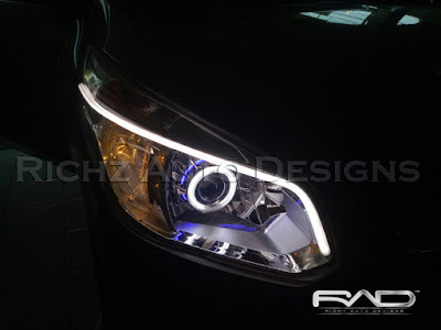 custom headlamp chevrolet spin